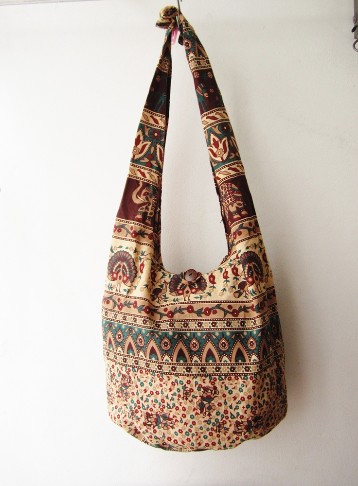 boho sling bag, tribal messenger bag,ethnic cross body bag, hippie boho bag, hmong bag, hipster bag,